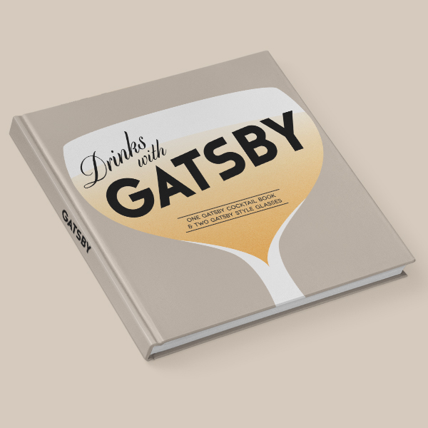 Drinks with Gatsby - Cocktail Book Cover