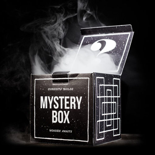 Mystery Box Packaging by Aaron Buckley