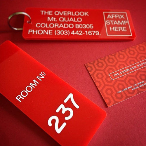 Room 237 Key Fob - The Shining