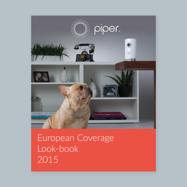 Piper European Coverage Look Book
