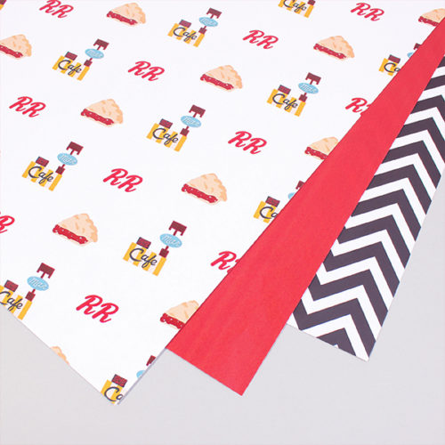 Twin Peaks Wrapping Paper by Aaron Buckley