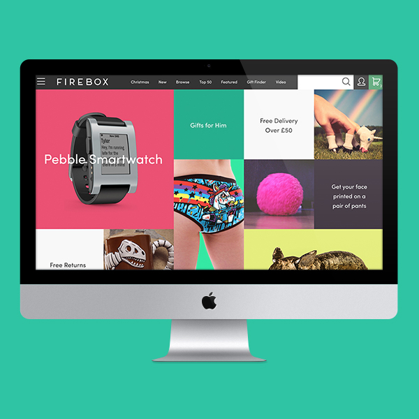 Firebox Web Design by Aaron Buckley