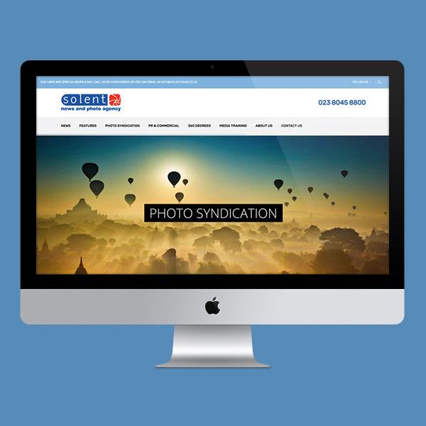 Solent News Website Design by Aaron Buckley