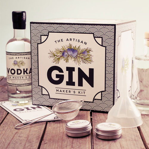 The Artisan Gin Maker's Kit by Aaron Buckley